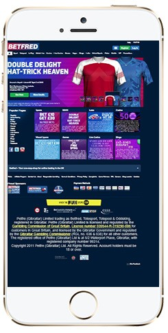 Mobile App Betfred